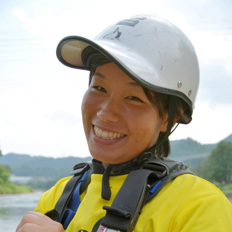 現役アドベンチャーレース日本代表 若手No,1ガイド<br>タフさを兼ね備えた、元気と笑顔がトレードマークの川ガール