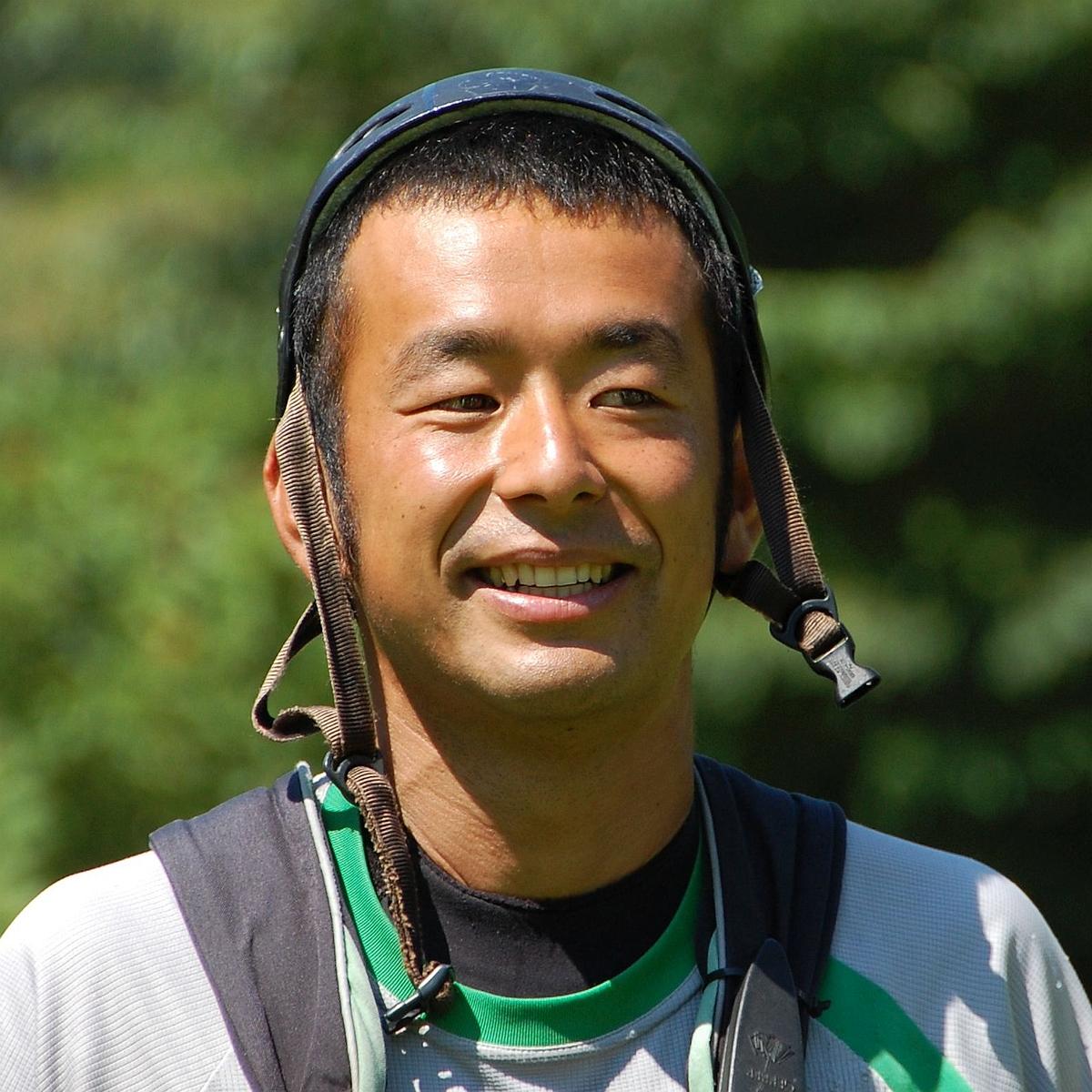 元ラフティングレース日本代表 カッパCLUBの黄金時代を築いた男<br> レースはもとより、全日本リバーガイド選手権の優勝経験あり